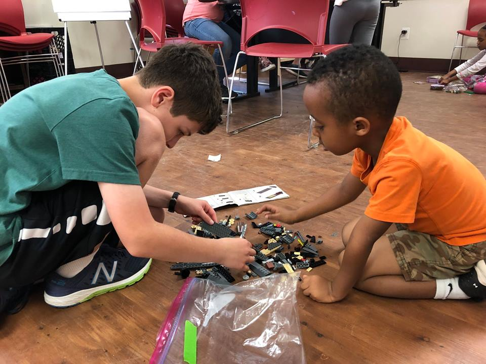 Building friendships one lego at a time!