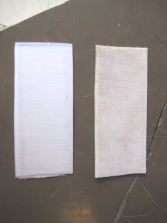 Left: Doublesided Tape; Right: Barge