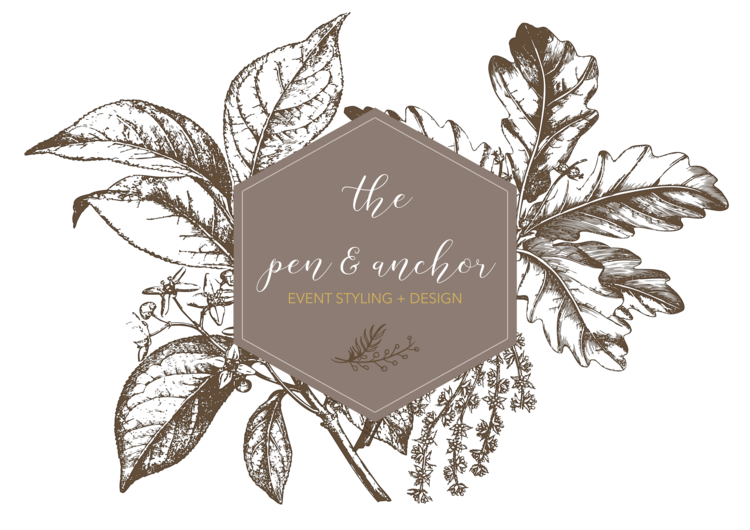 The Pen & Anchor | Event Styling + Design | Rentals | Walla Walla, WA