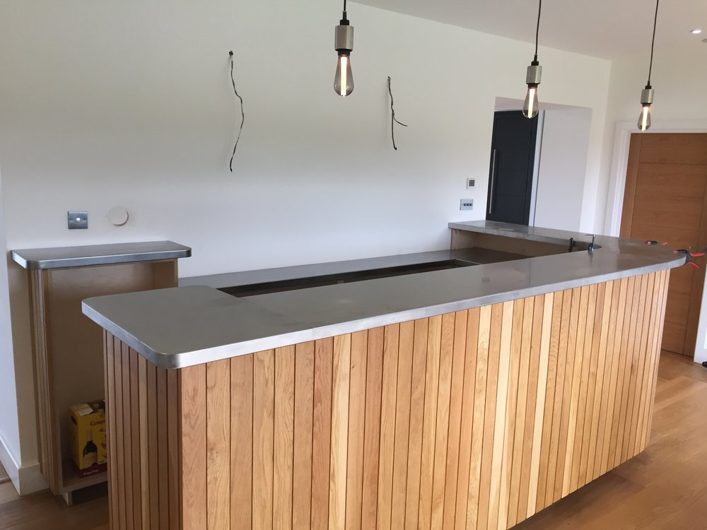 Private Bar - A gin bar for a private client located in a fantastic barn conversion