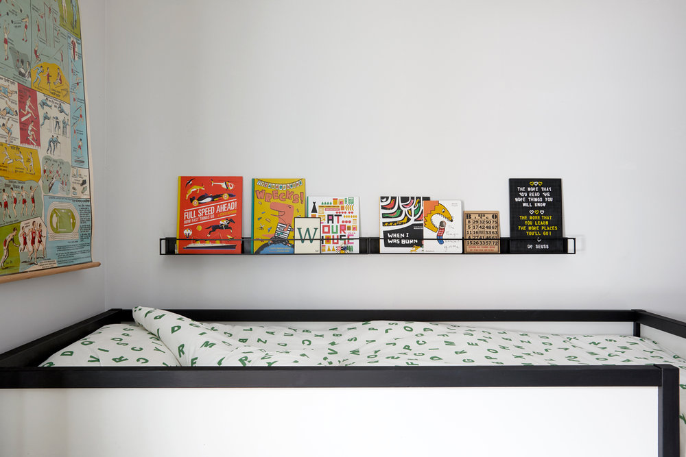 bunk bed book ledges
