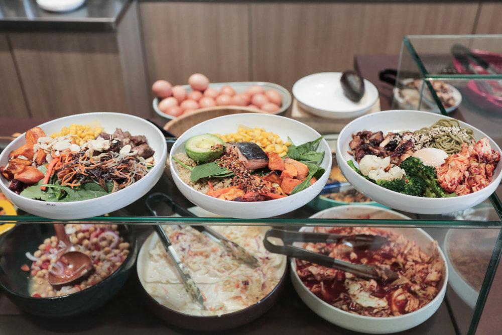 D A Y M E N U - Protein &Grain Bowls11.30am - 2.30pm