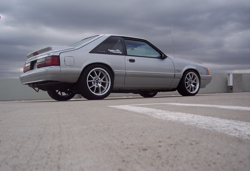 Front to rear, top to bottom, fox body Mustang owners shell out big bucks to build their cars.