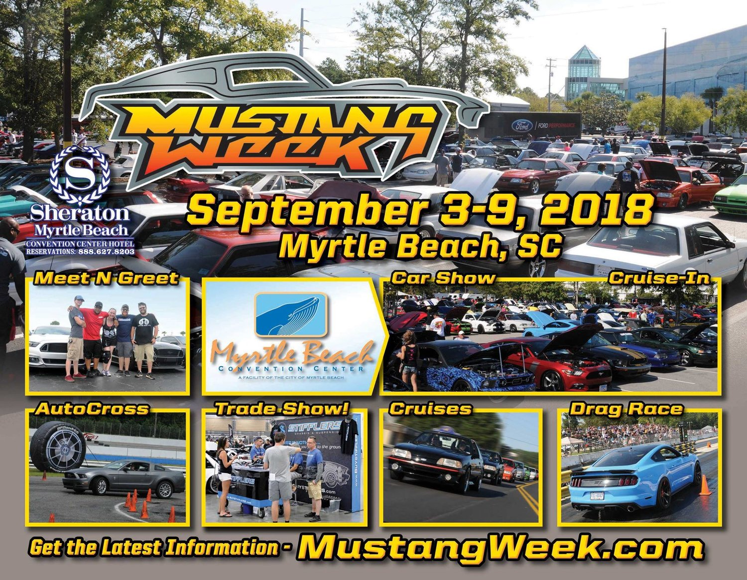 Mustang Week Foxcast Media - Myrtle beach car show