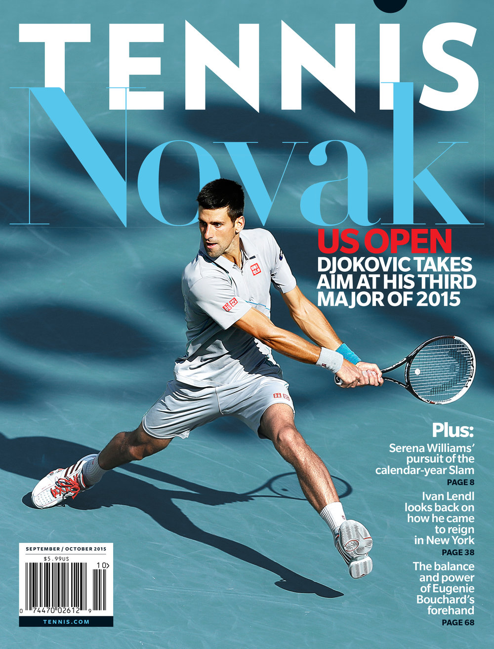 Tennis Magazine - Filler text goes here cheers