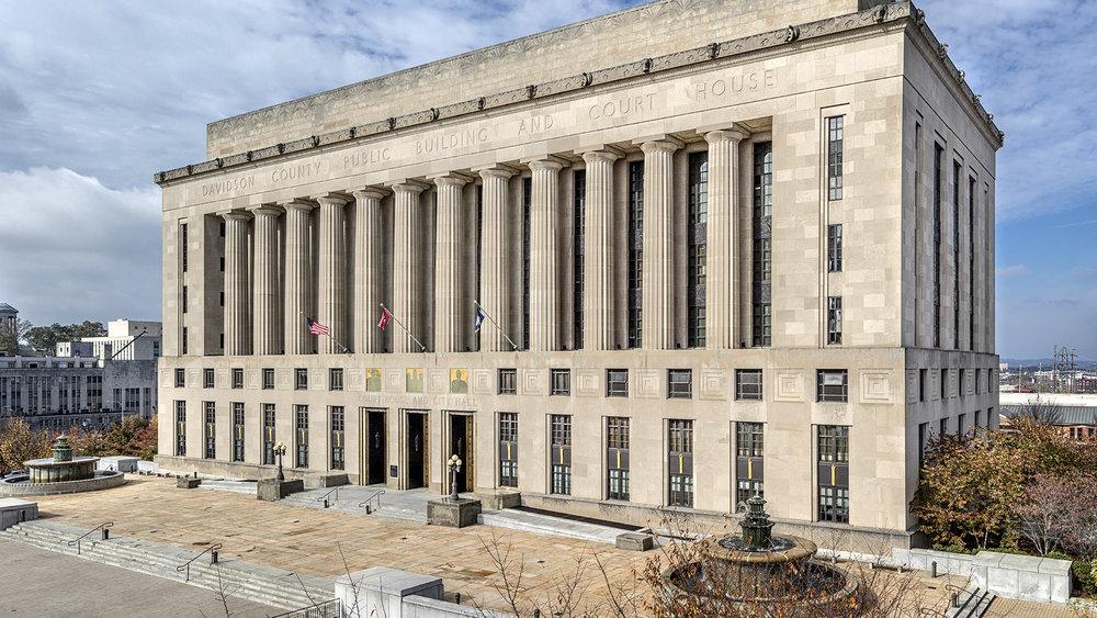 Davidson Courthouse - Nashville, TN