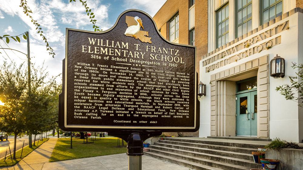 Frantz Elementary School - New Orleans, LA