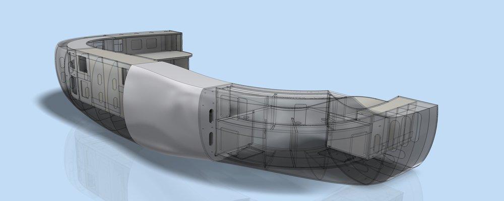Model View  - segments