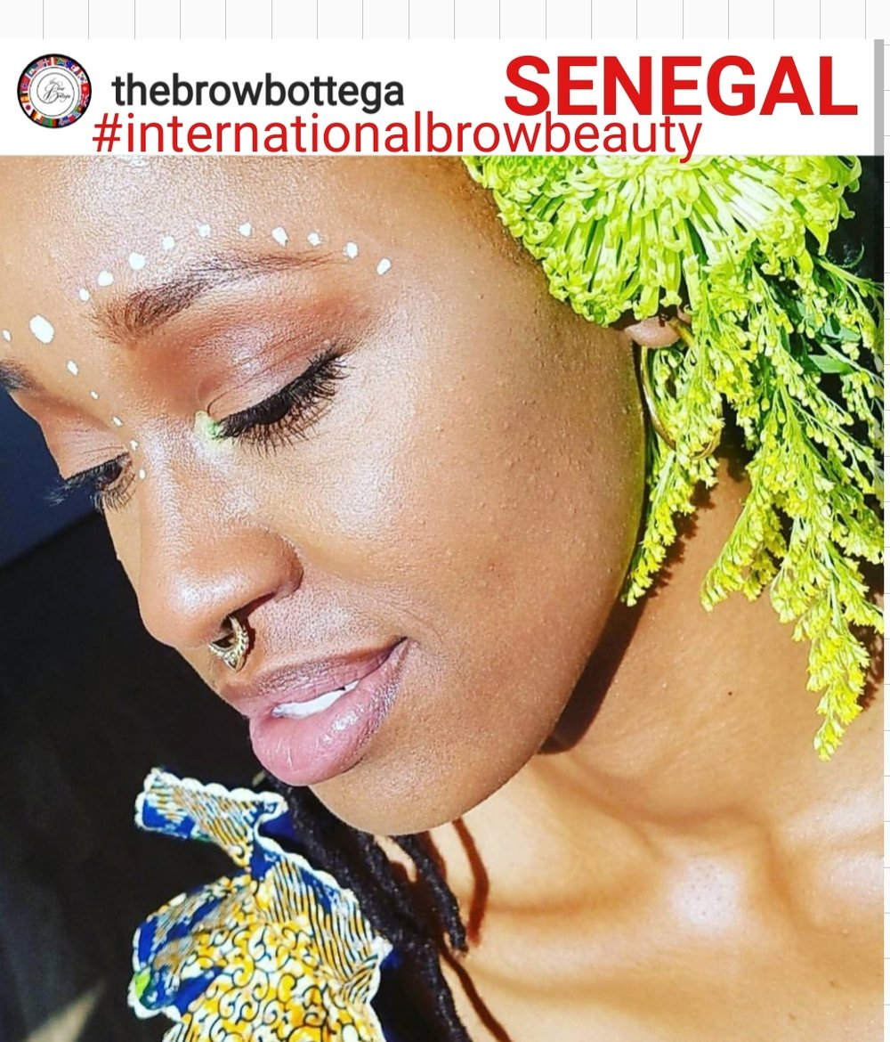 *CLIENT* #internationalbrowbeauty - SENEGAL