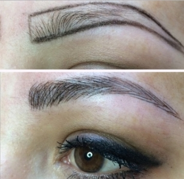 Microblading/Feathering - $250-$450 (Deposit required)