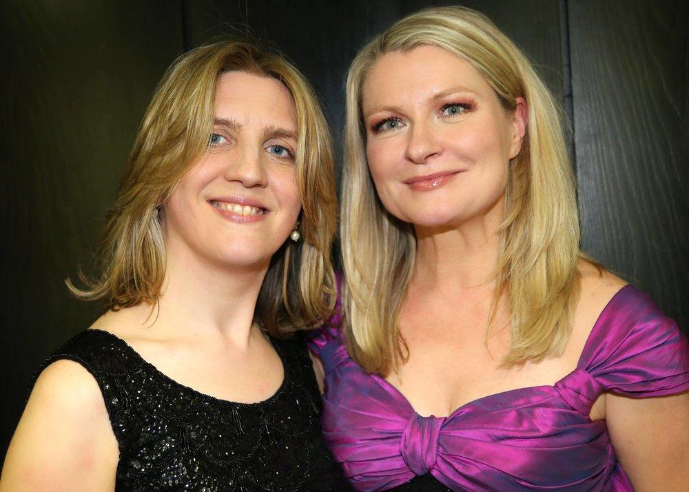 Dearbhla Collins and Patricia Bardon, mezzo-soprano