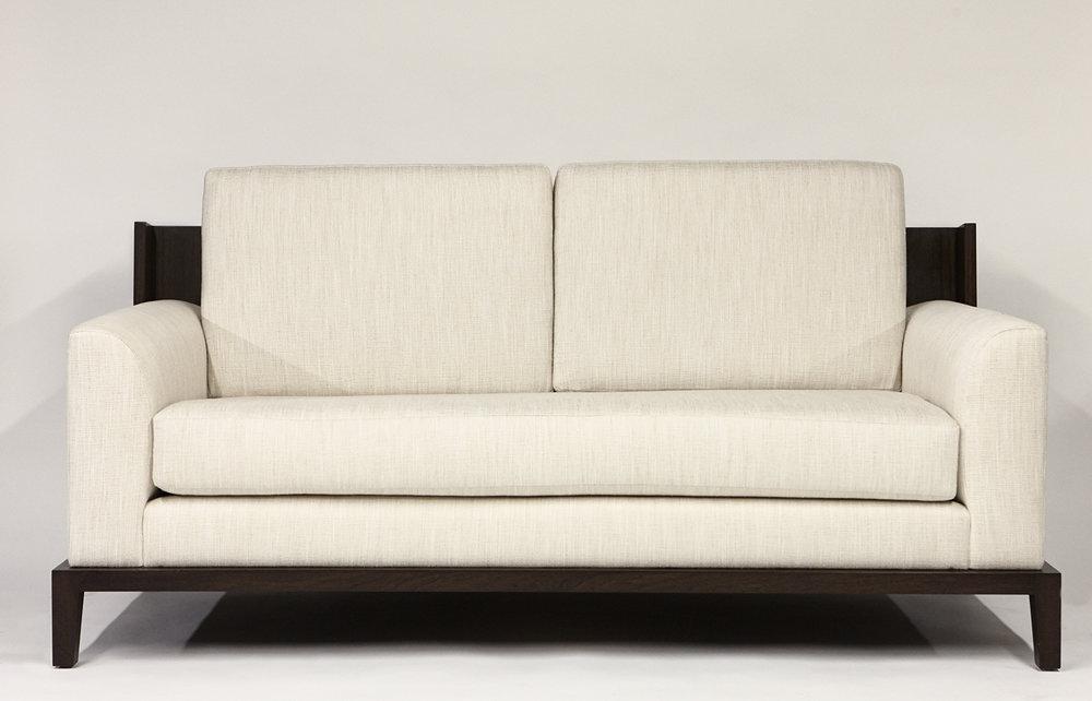 Aguirre Design - Kurt Sofa - Fabric and Oak
