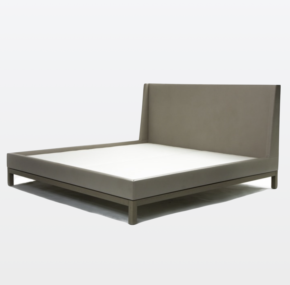 Aguirre Design - Elegant Leather upholstered Bed