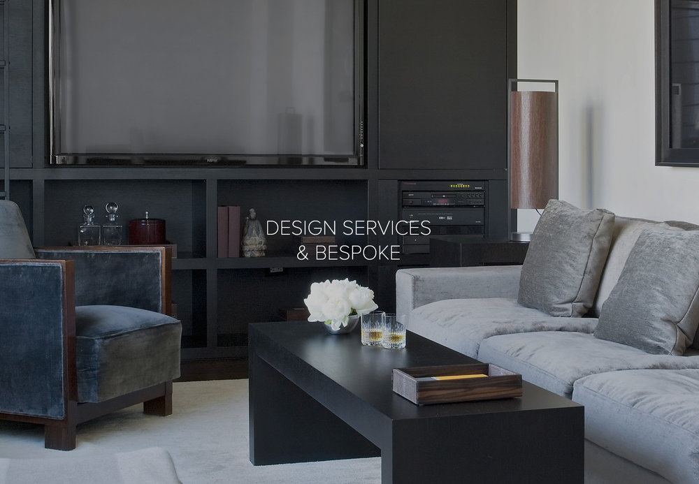 Aguirre Design Design Services , Bespoke and Custom Furniture