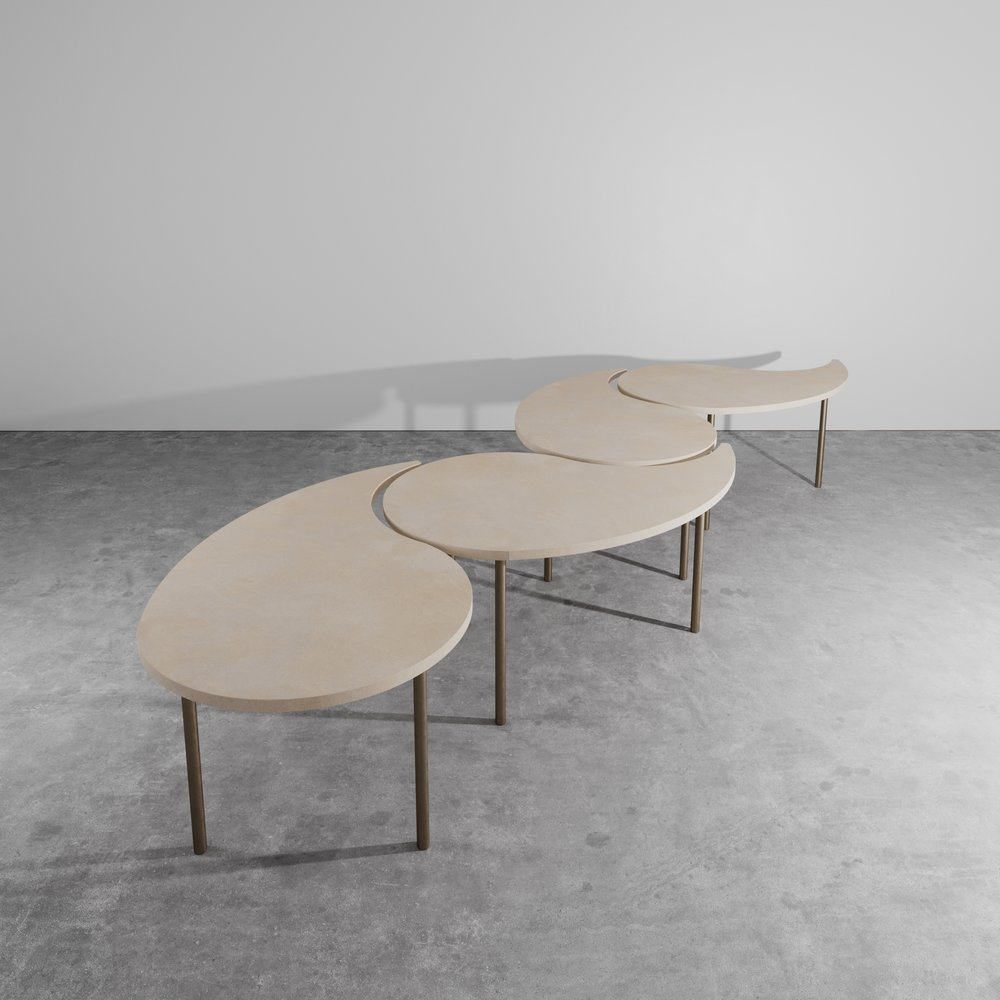 Capra Coffee Table - Aguirre Design