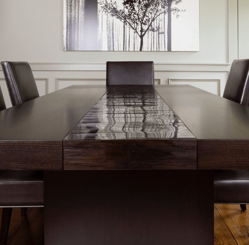 Aguirre Design - Bamboo and Oak Modern Dining Table