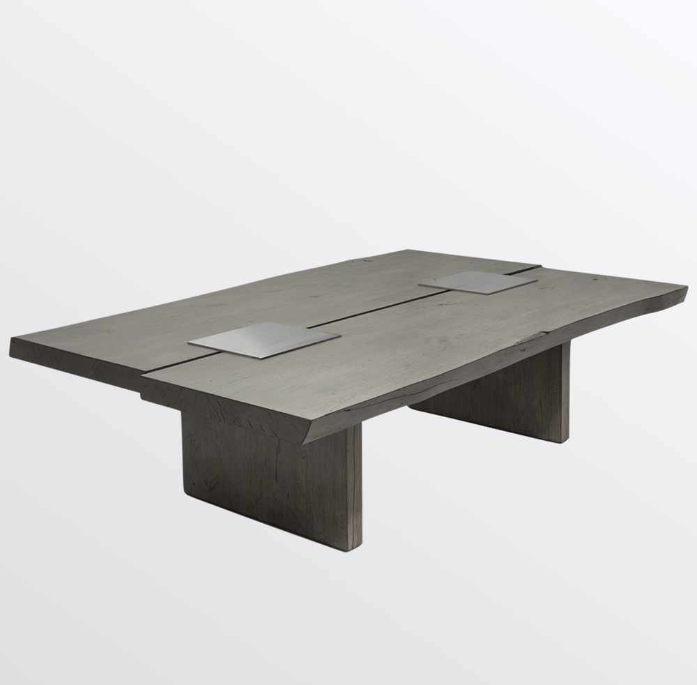 Aguirre Design - Maple and Steel Coffee Table