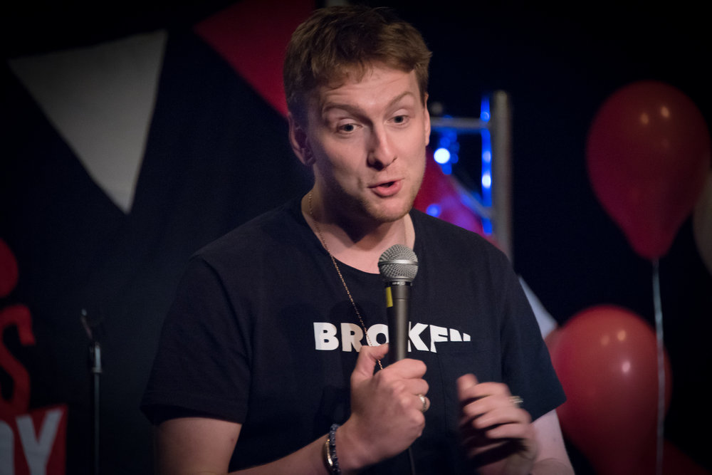 Joe Lycett, Wells Comedy Festival 2017. Photo: Paul Gilbey.