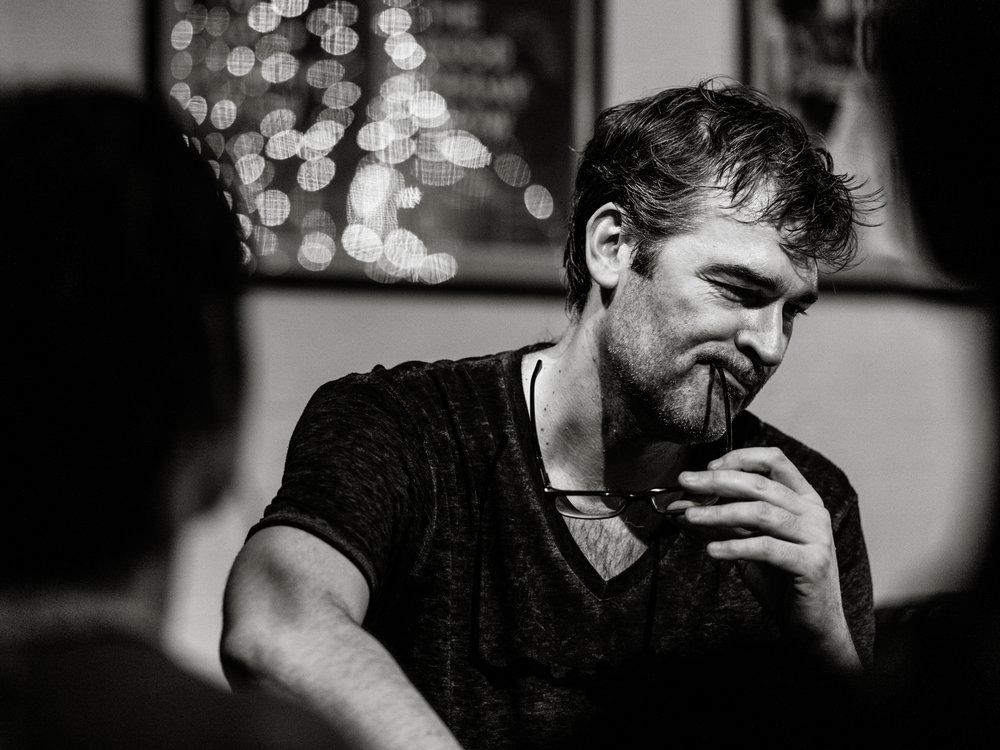 Adam Riches, Edinburgh Fringe. Photo: Ed Moore