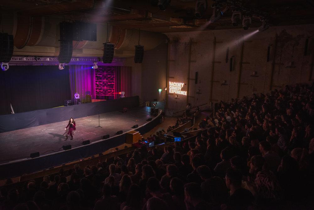 Fern Brady,Hackney Comedy Experience. Photo: Paul Gilbey