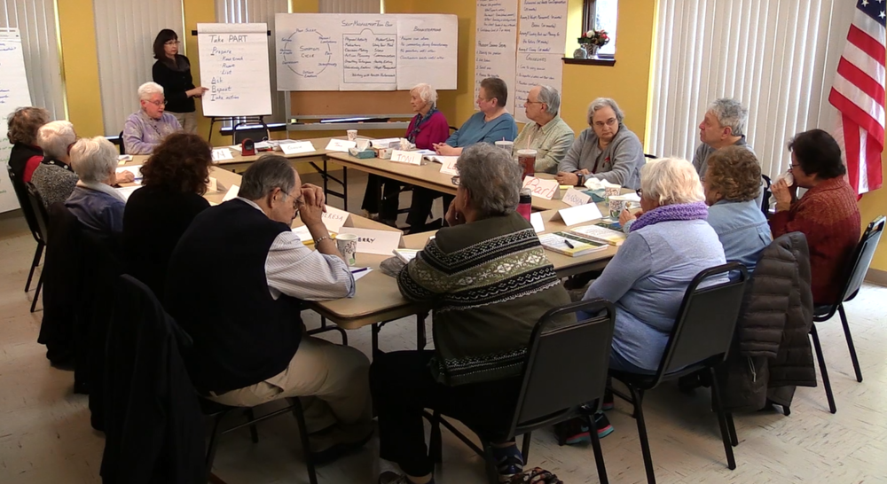 Workshops are designed to be taught in a community setting (e.g., senior center, church, library, hospital, community center)