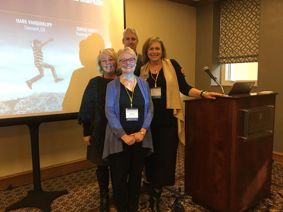 The presentation team at the 2018 Child Abuse and Neglect Conference
