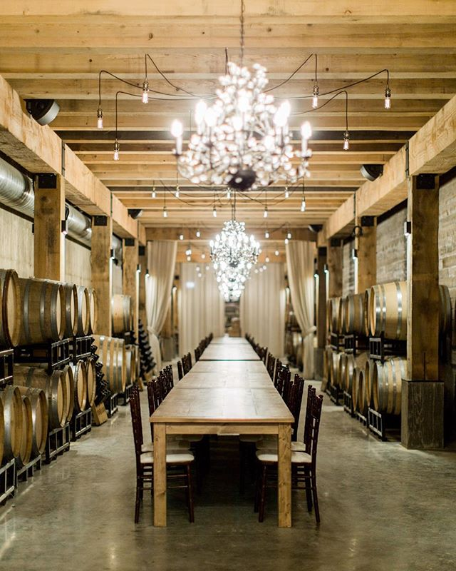 All these beauty's lined up in a row!  The @lwwines cellar is just amazing and would be an incredible reception venue don't yah think!?? When in the Annapolis valley you gotta stop in for a look!  Just may see a couple of our table builds there;) #novascotia #halifaxharvesttables #halifaxwoodentables #halifax #novascotia #novascotiawedding #novascotiawine #novascotiaproud #beauty #decor #cellar #wood #vineyard #love #style #perfect #amazing #awesome.  Beautiful photo taken by @nicolelapierrephotography !!!