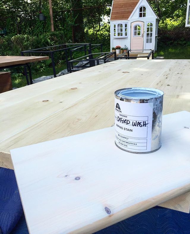 It's a great day for staining!  Have a great weekend everyone!