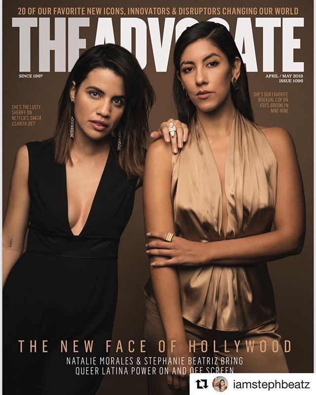 We are so proud of you, @iamstephbeatz!!! #Repost @iamstephbeatz ・・・ I am so grateful for this cover and to be sharing it with a phenomenal talent like @nataliemoraleslovesfreestuff. We're ready.