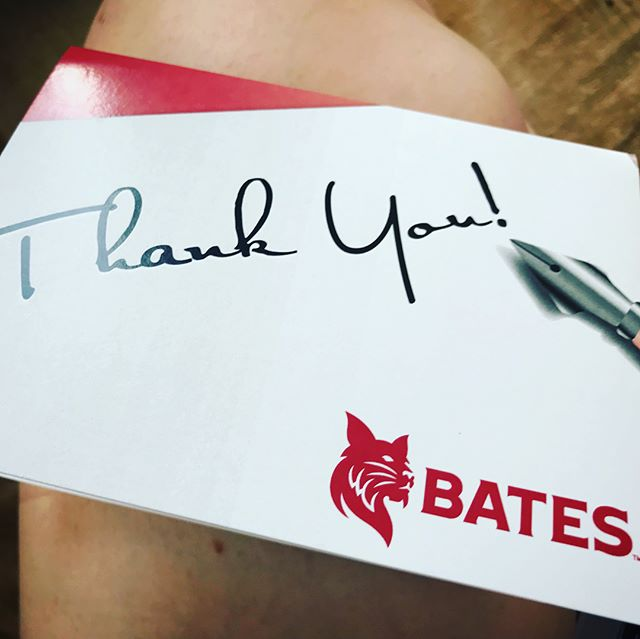 Receiving #fanmail and letters of appreciation absolutely warms our heart. Thank you @batesfilmfestival2018 and @batescollege for including #tlotmfilm at your inaugural festival and for helping us spread the word about this important film. ••• #endrapeculture #itsonus