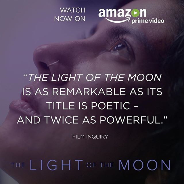 "One of the things we keep hearing from those of you who have seen #TLOTMfilm is how ""powerful"" and eye-opening it is. With April being #SexualAssaultAwareness Month, we now have THE LIGHT OF THE MOON streaming on @primevideo (in the US) so everyone has a chance to see and learn from it. (Stay tuned for updates on our International release coming soon.) We hope the film's message resonates with all of you."