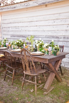 FARM TABLES | BARREL BUFFETS | BARS