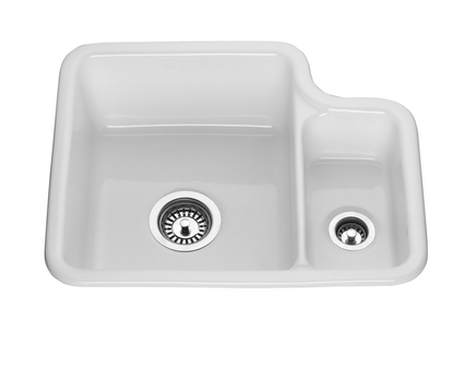 undermounted ceramic sink