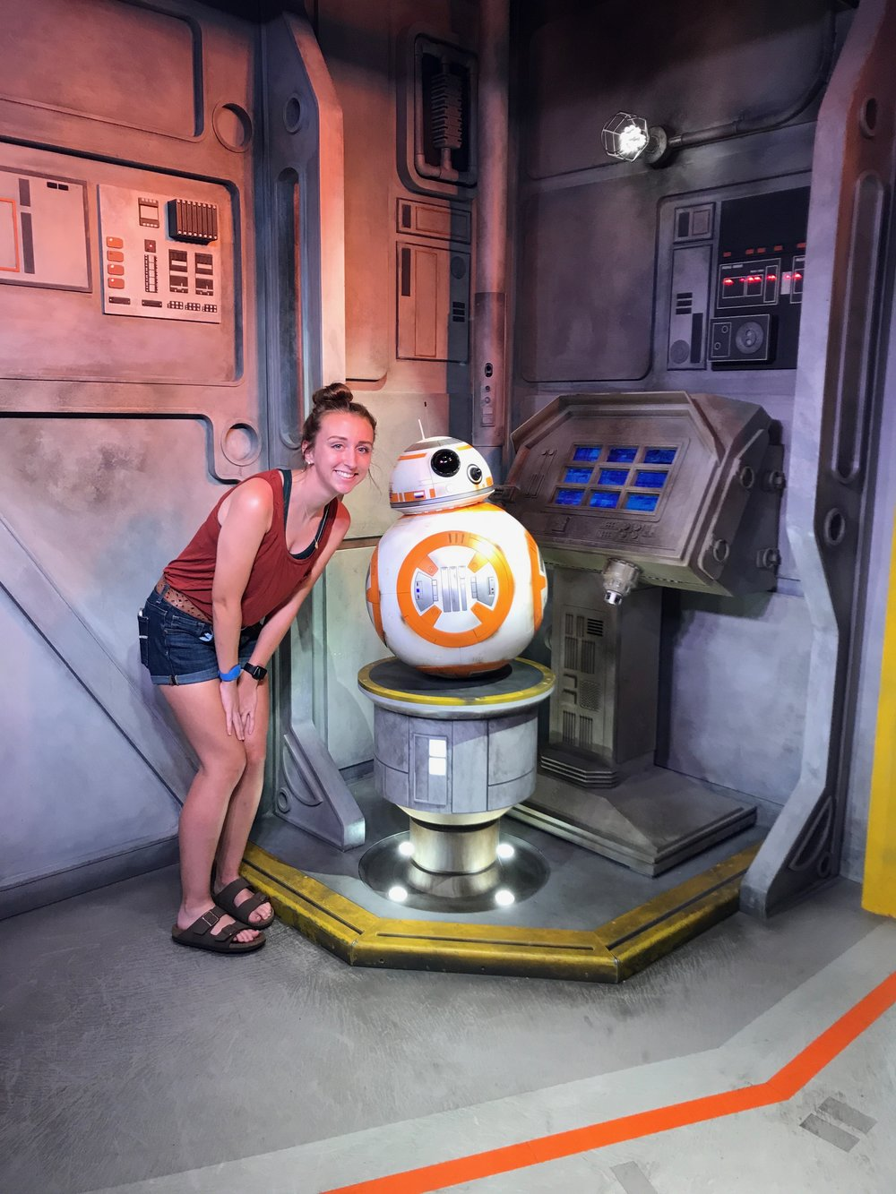 Cutest Droid in the Galaxy- and we think the girl is pretty cute too!