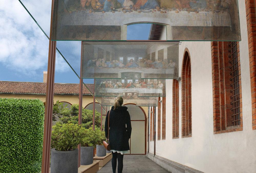 Cloister corridor 1