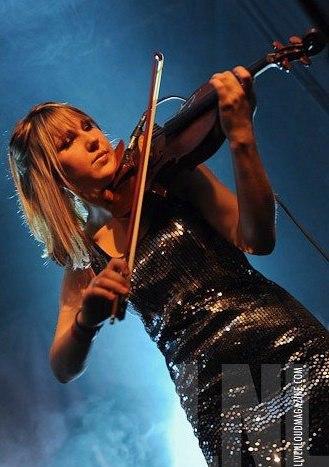 Brooke Stewart Violin Dianne Body Band 2014