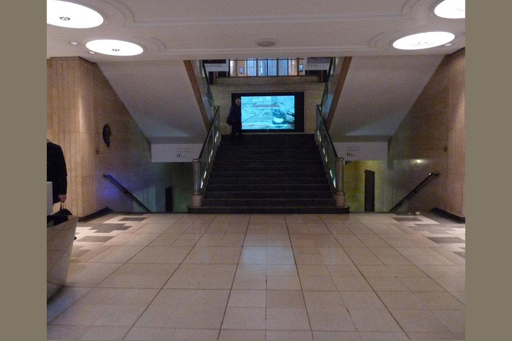 RIBA Foyer: Existing