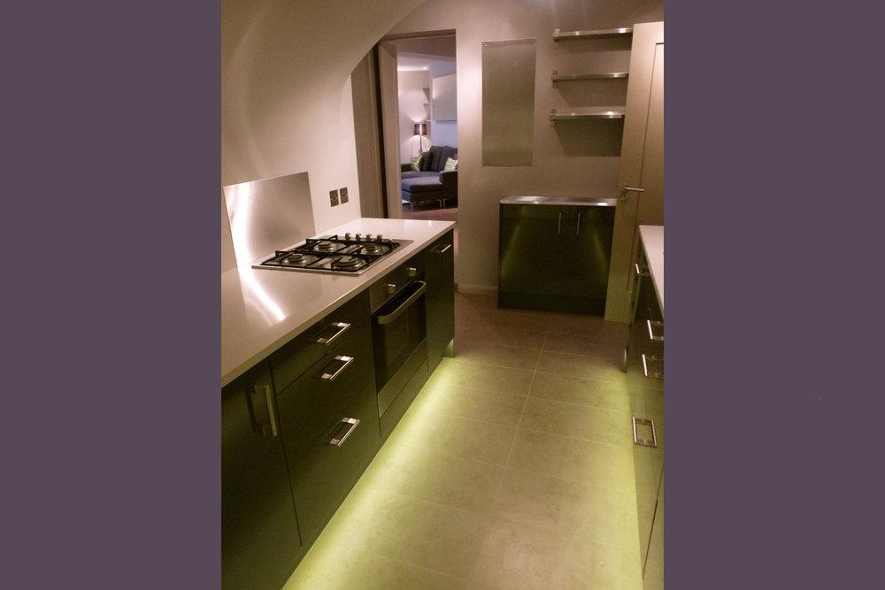 Cumberland Avenue: Kitchen, reverse view