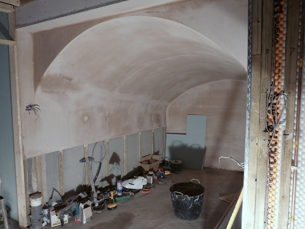 Cumberland Avenue: Vaulted Kitchen Before