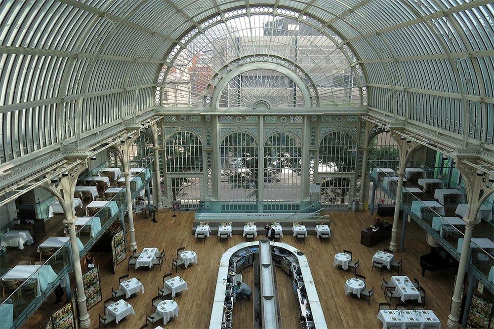 The Paul Hamlyn Hall, The Royal Opera House / Before install ( Du Boisson Dance Foundation Gala Dinner )