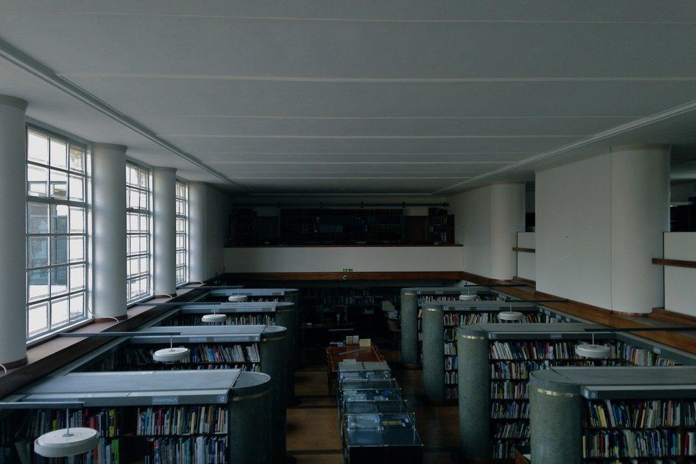 The RIBA Library / Before install ( RIBA Patrons Annual Dinner )