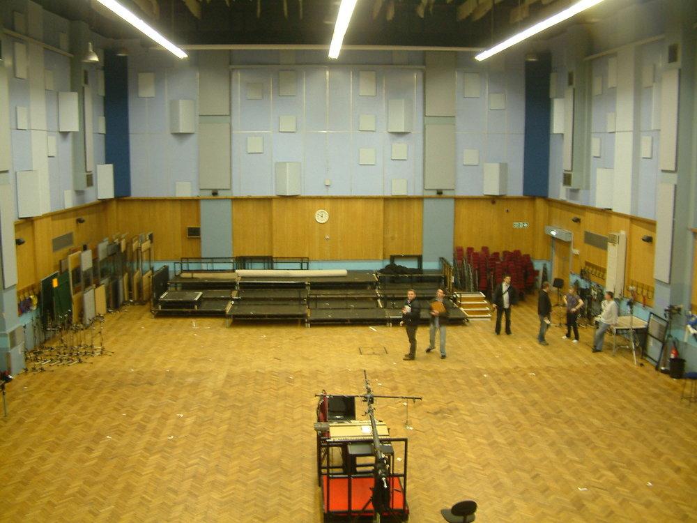 Abbey Road Studios / Before install ( Terra Firma Shareholders Dinner )