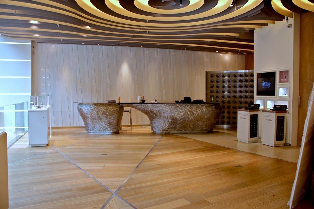 Pandora: Bond St store, first floor / Before install ( Pandora Essence Launch )