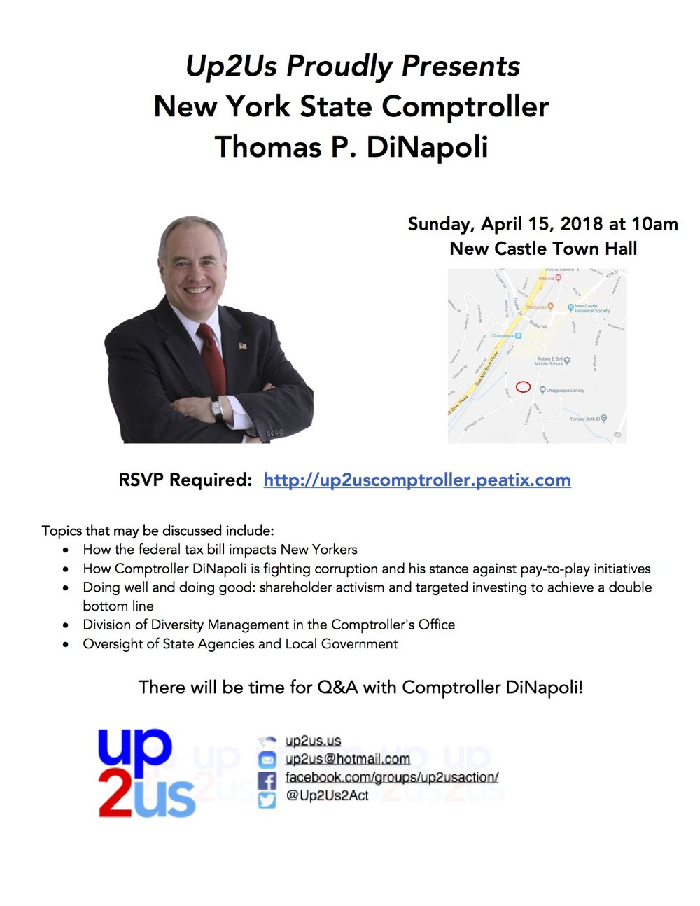 RSVP Required:  http://up2uscomptroller.peatix.com/