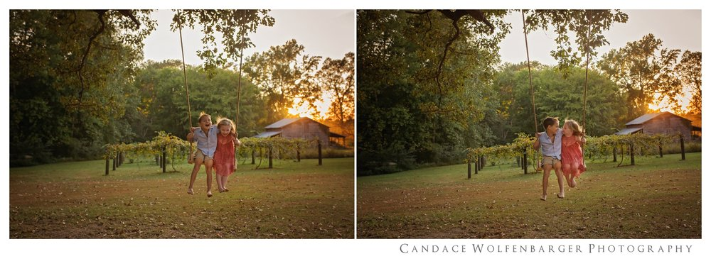 Naaman Caroline Swing Session Candace Wolfenbarger Sanford NC Childrens Photographer 3.jpg