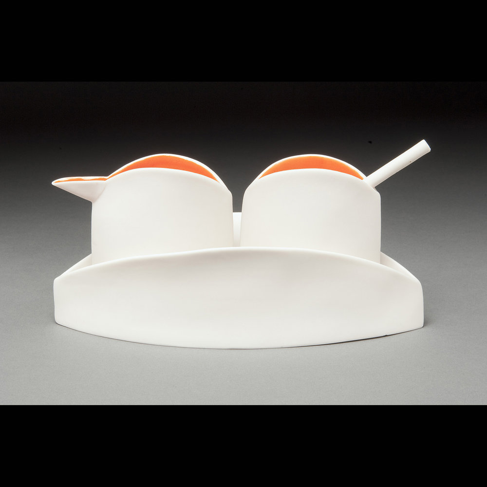 Orange Sugar and Creamer