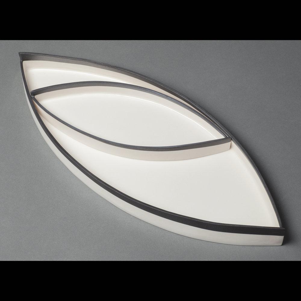 Asymetrical Tray Set