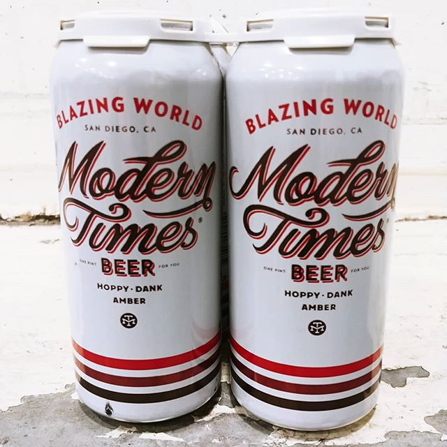 Lots of 🔥new #fresh beer available this week! #beerme @moderntimesbeer @captlawrence @3starsbrewing