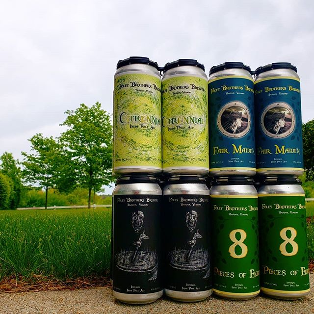 Cloudy with a chance of haaaaaaze. Fresh can drop from Foley Brothers from Vermont!  @foleybrothers  #vermontcraftbeer #juiceisloose #craftbeer #beerporn #ipa