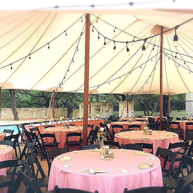 Beautiful set-up for this State Fair inspired wedding menu! 💕. . . . . . . #atx #rosegold #rosewedding #statefairwedding  #wedding #classic #atxwedding #austin #austinwedding #austinbride #austinvenue #austintexas #tx #austinweddingvenue #hamiltontwelve #hillcountrywedding #hillcountry #texashillcountry #texas #texaswedding #pinkwedding #statefair #vintage #vintagewedding #tent #fallequinox #fallwedding
